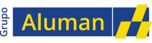 Tipografía: Open Sans  Logo Aluman: Open Sans Semibold  PANTONES:  Amarillo: PANTONE YELLOW C Azul: PANTONE 286 C