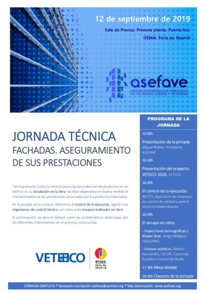 Jornada ASEFAVE Control fachadas 20190912