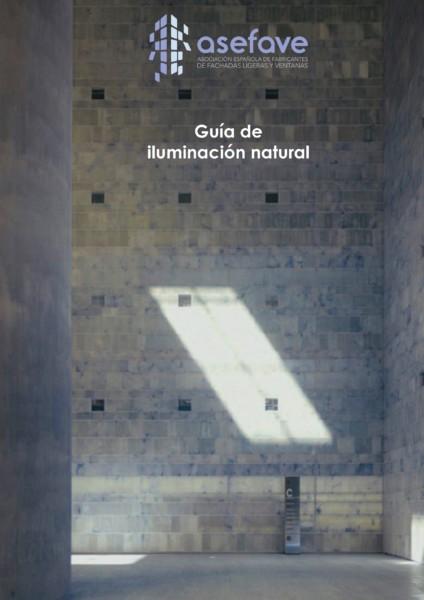POrtada Guía luminación natural